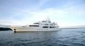 Luxury mega yacht SAMAR