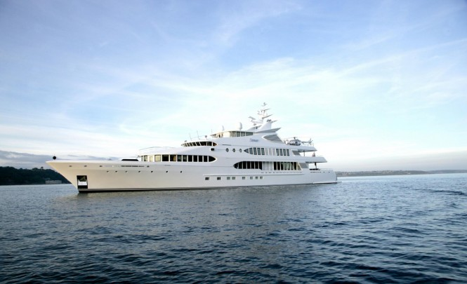 Luxury mega yacht SAMAR