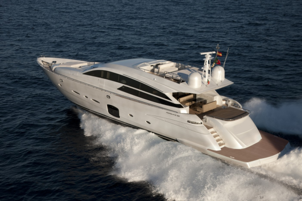 ... stand 48) the Group presented its brands Ferretti Yachts ...