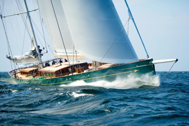 Luxury sailing yacht Hetairos