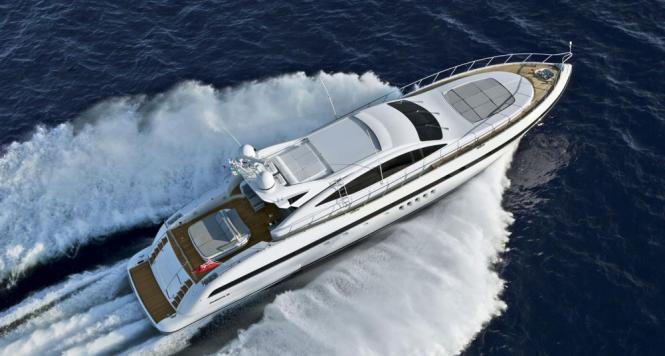Mangusta 92 yacht by Overmarine