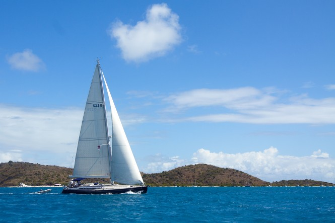Merel Four, Swan 53, Springs into Cruise Mode at the 2012 ClubSwan Caribbean Rendezvous (c) Nautor's Swan & YachtShots BVI