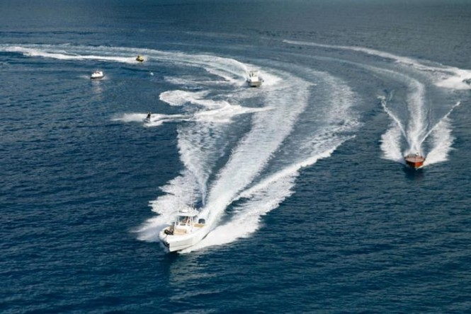 Motor Yacht SuRi's tenders and toys