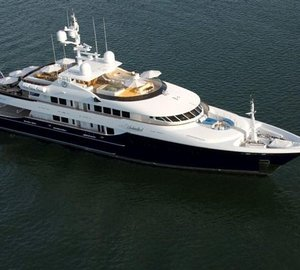 Superyacht Unbridled available for Mediterranean charter