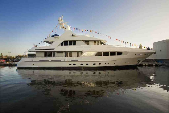 Motor yacht KATHLEEN ANNE - At Launch