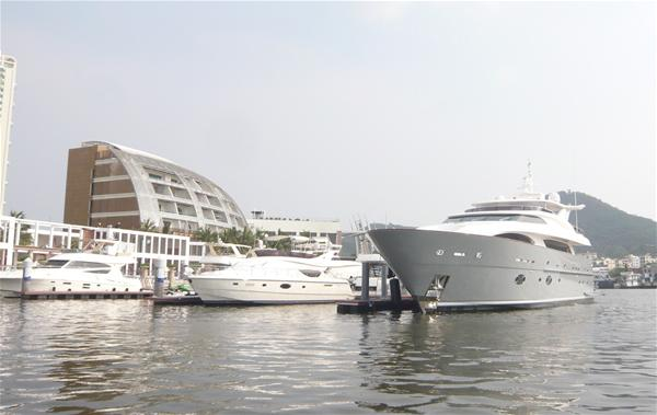 Muses superyacht to be exhibited at the 2012 Hainan Rendezvous