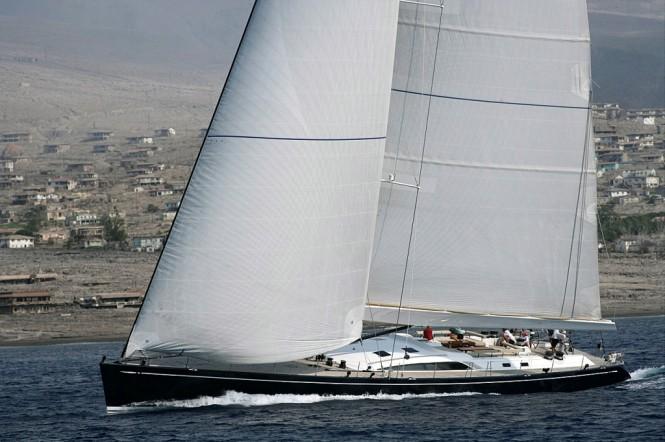 Nautors Swan 100 charter yacht VIRAGO
