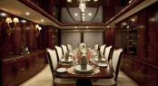 Noble House charter yacht - Dining