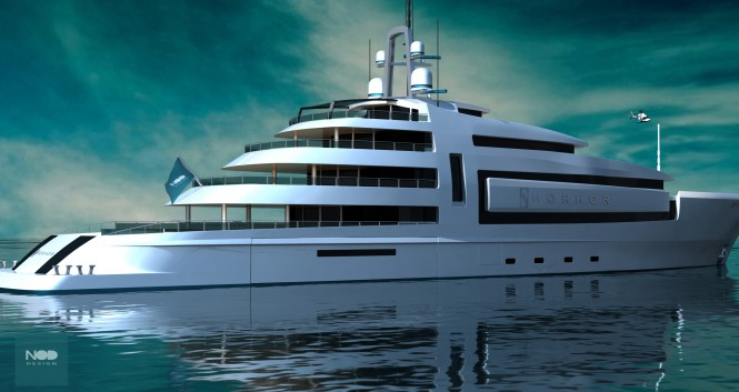 Nod Designed superyacht Horhor by Emre Yildirim