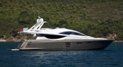 Numarine luxury yacht 78&Acirc;&acute; FLY