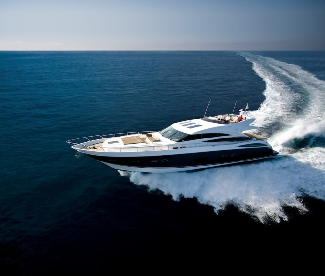 Princess V85-S Yacht Image Courtesy of Princess Yachts