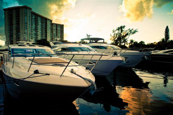 Princess Yachts at the 2012 Miami International Boat Show