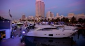 Princess Yachts on display in Miami