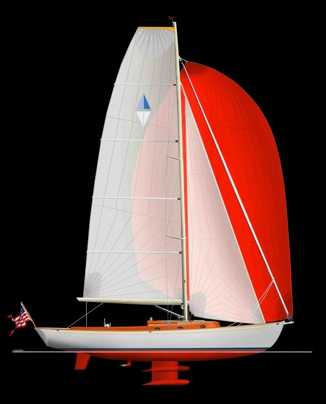 SWYD Rivolta Vintage 43 sailing yacht