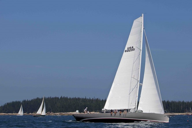 SWYD sailing yacht Isobel - Horizon Racing - copyright Alison Langley