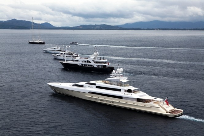Sail  Power Superyachts at Asia Superyacht Rendezvous