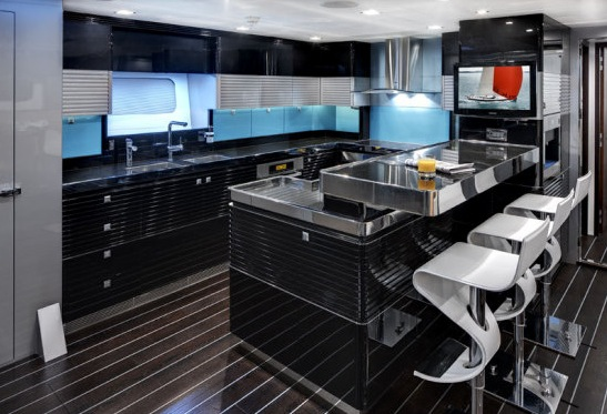 Sailing Yacht BLISS - Galley