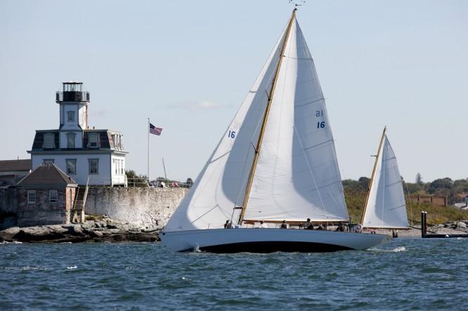 Sailing yacht Dorade Credit: Billy Black