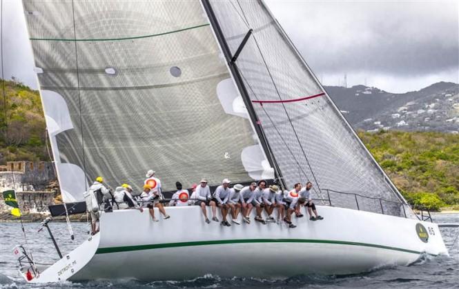 Sailing yacht EQUATION Photo by Rolex Ingrid Abery