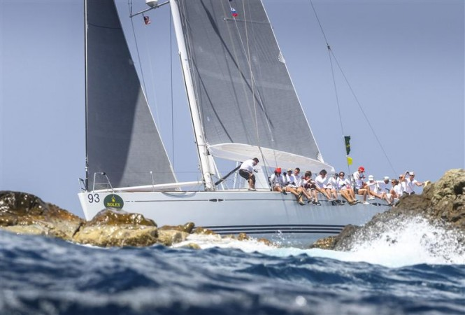 Sailing yacht KARUBA 5 Photo by Rolex Ingrid Abery