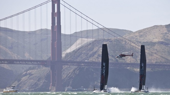 San Francisco Approves America's Cup Race for September 2013 Credit Gilled Martin RagetACEA