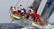 Sanya Serenity Superyacht Marina in China hosted Volvo Ocean Race Teams