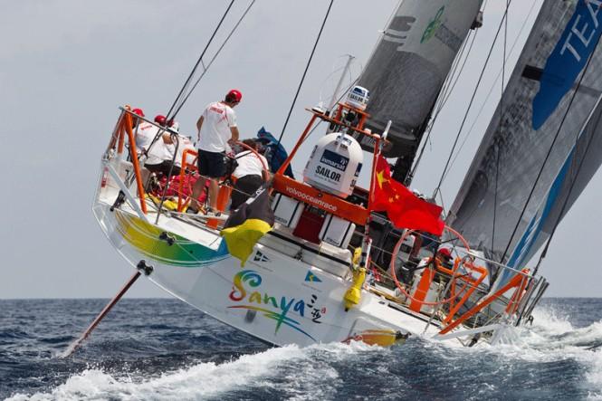 Sanya Serenity Superyacht Marina in China hosted Volvo Ocean Race Teams