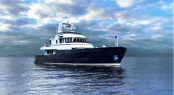 Seaton Expedition Eighty-Three motor yacht by Burger Boat Company and Seaton Yachts