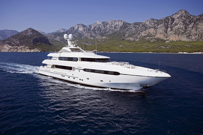 Sistership to the new 45m Sunrise Superyacht - the luxury yacht AFRICA