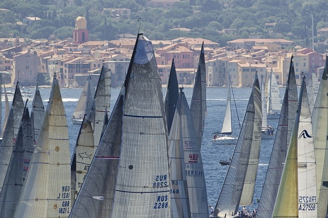 Start of the inshore race Photo By Rolex Carlo Borlenghi