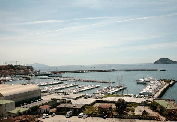 Sucantieri Superyacht Marina situated in a beautiful Italian yacht charter location - Naples