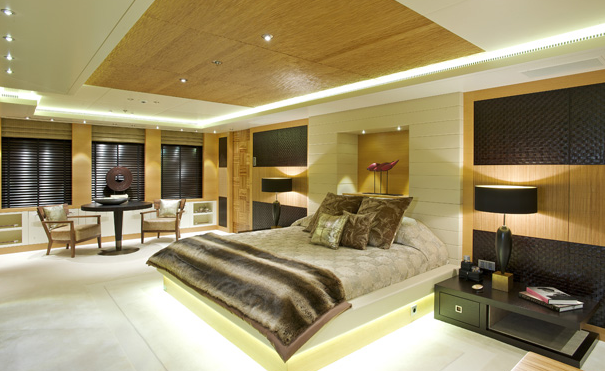 Superyacht Arkley - Owner Suite