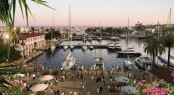The Commercial Area - Limassol Marina Cyprus