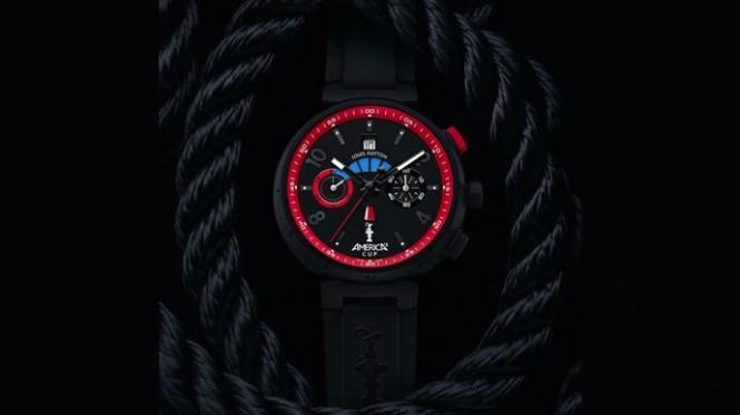 The Tambour Regatta America's Cup watch - Credit: Louis Vuitton