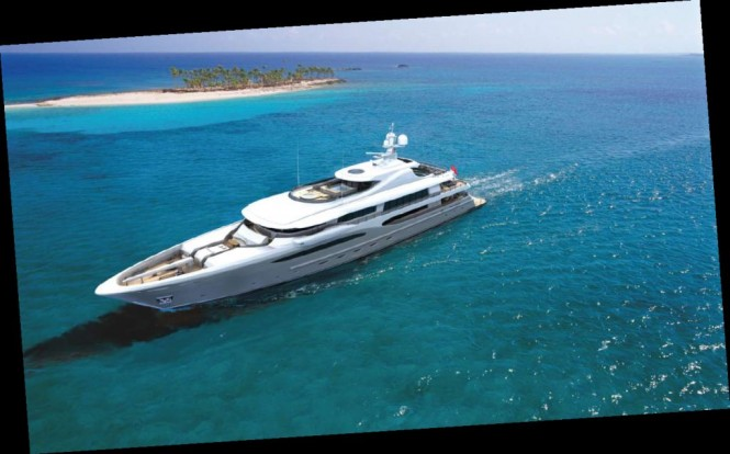 The luxury yacht Amels 212