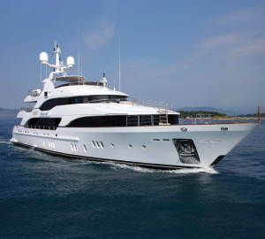 Award-winning superyacht 'TOLD U SO' available for luxury charter in the Mediterranean