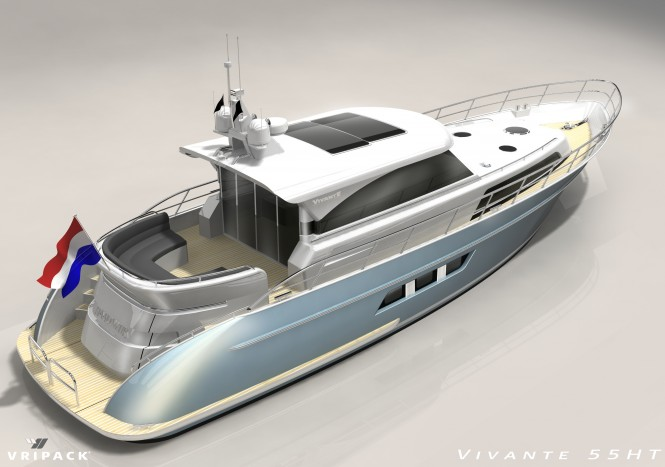 Vivante 55 HP Yacht by Vivante Yachts and Vripack