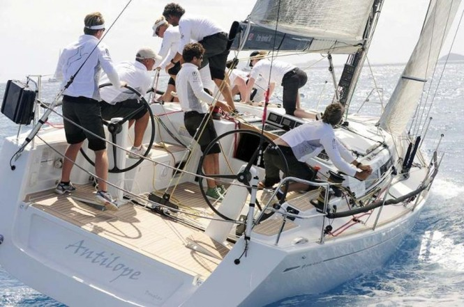Willem Wester's Grand Soleil 43, sailing yacht Antilope return to defend ...