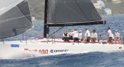 Winner of the 2012 Nanny Cay Cup - Michael Shlens´ Farr 400 sailing yacht Blade