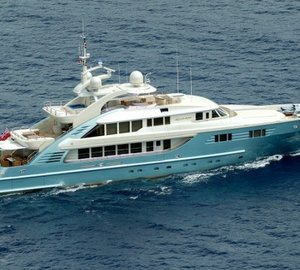 Refit of the 47m motor yacht Aquamarina by ISA completed