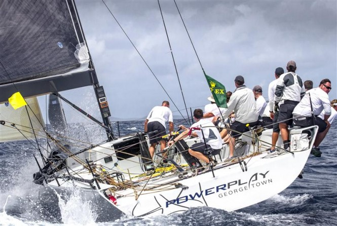 Yacht POWERPLAY, 1st after Day 1 in Division IRC 1 Photo by Rolex Ingrid Abery