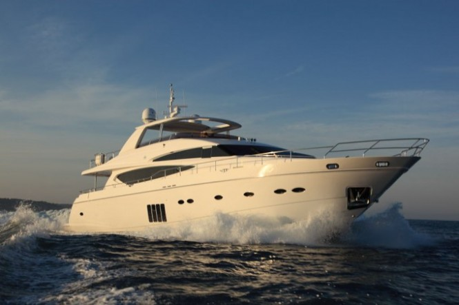 2010 launched charter yacht Princess Lily - a Princess 95 superyacht by Princess Yachts