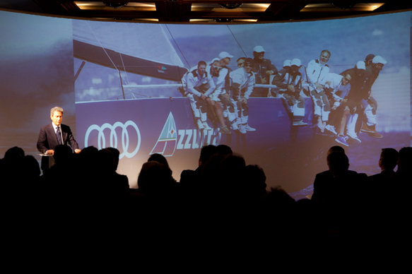 2012 brings the consolidation of the Club's initiatives in the Caribbean and through Audi Azzurra Sailing Team