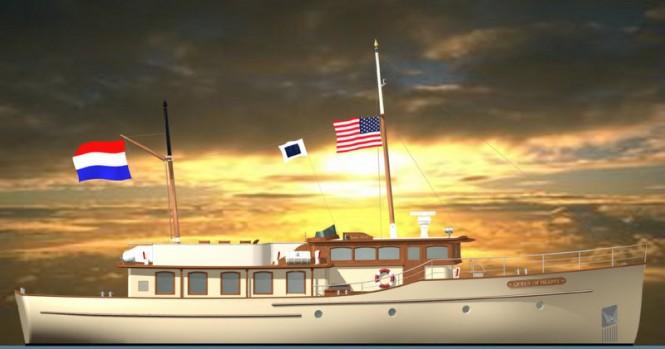 24m sailing yacht Grande Estime 78´ Classic designed by Olivier van Meer