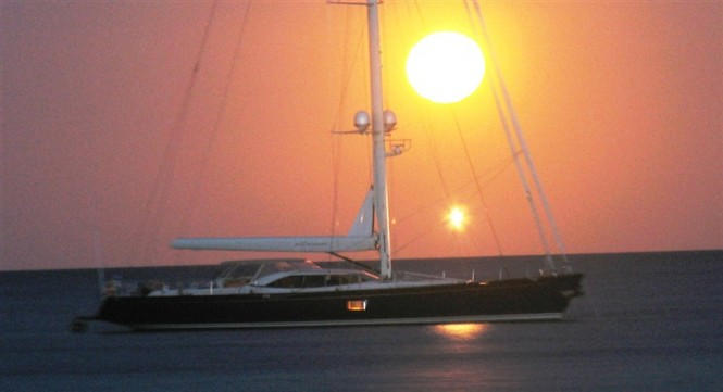 29.1m luxury sailing yacht Alcanara