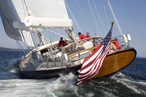 30.2m sailing yacht WINDCREST by Hodgdon Yachts
