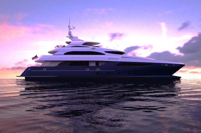 37.5m catamaran yacht Zenith
