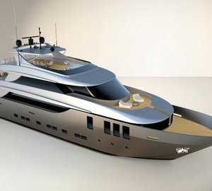 New 38m motor yacht Nadara 38 by Admiral Tecnomar Group due to be delivered in summer 2014