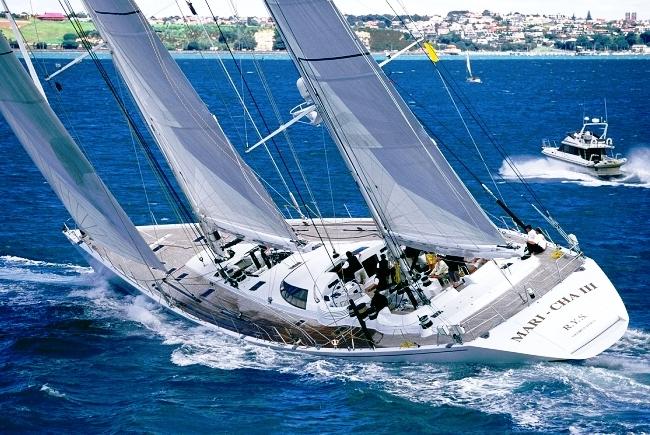 44.7m sailing yacht MARI CHA III - Sailing Up Wind