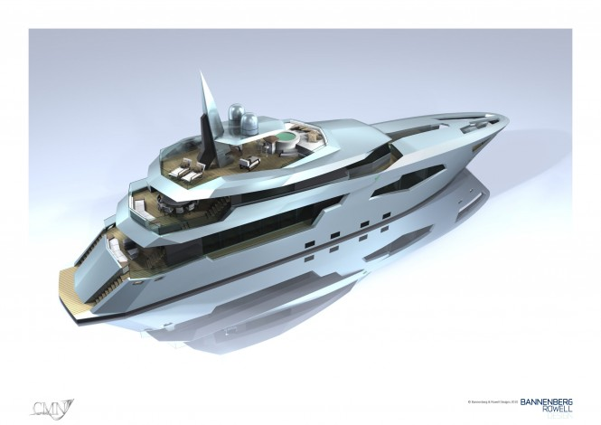 44m motor yacht Scorpio - CMN &amp; Bannenberg Rowell project